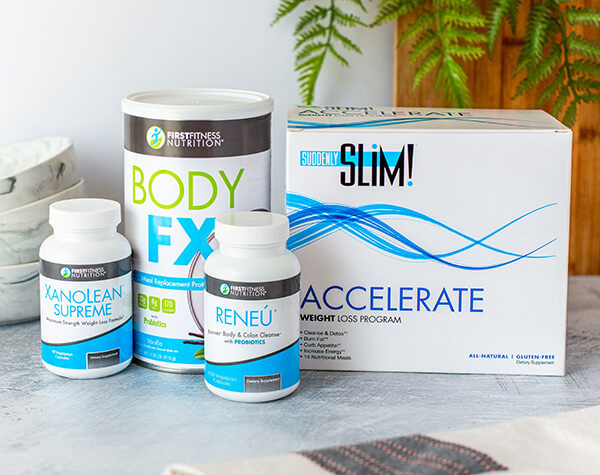 First Fitness Nutrition Suddenly Slim Accelerate Vanilla